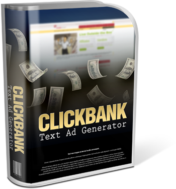 Clickbank Text Ads Generator